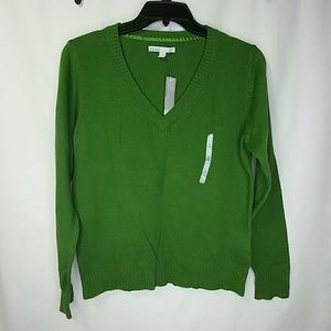 NWT Old Navy Wool Blend V Neck Sweater